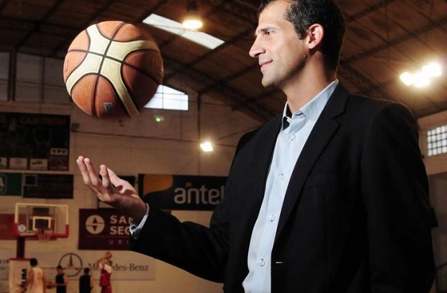 Mateo Rubio, entrenador de Trouville.