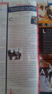 Artículo en la revista Gigantes