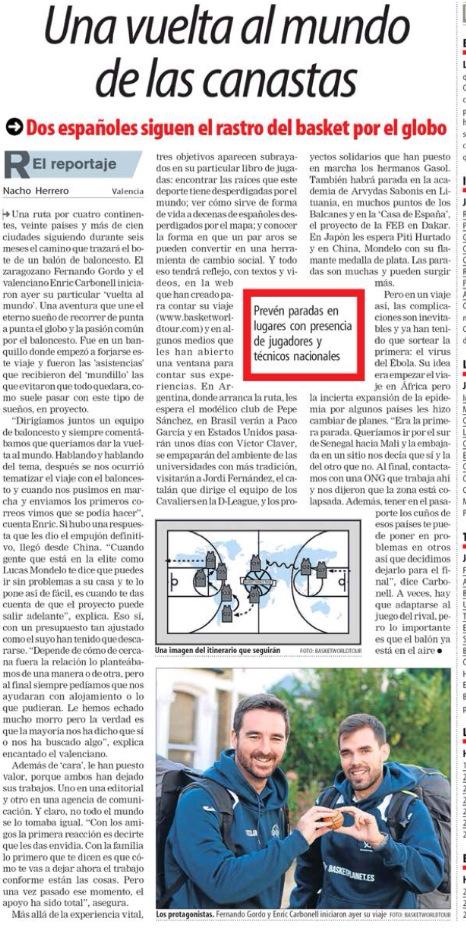 Artículo en El Mundo Deportivo