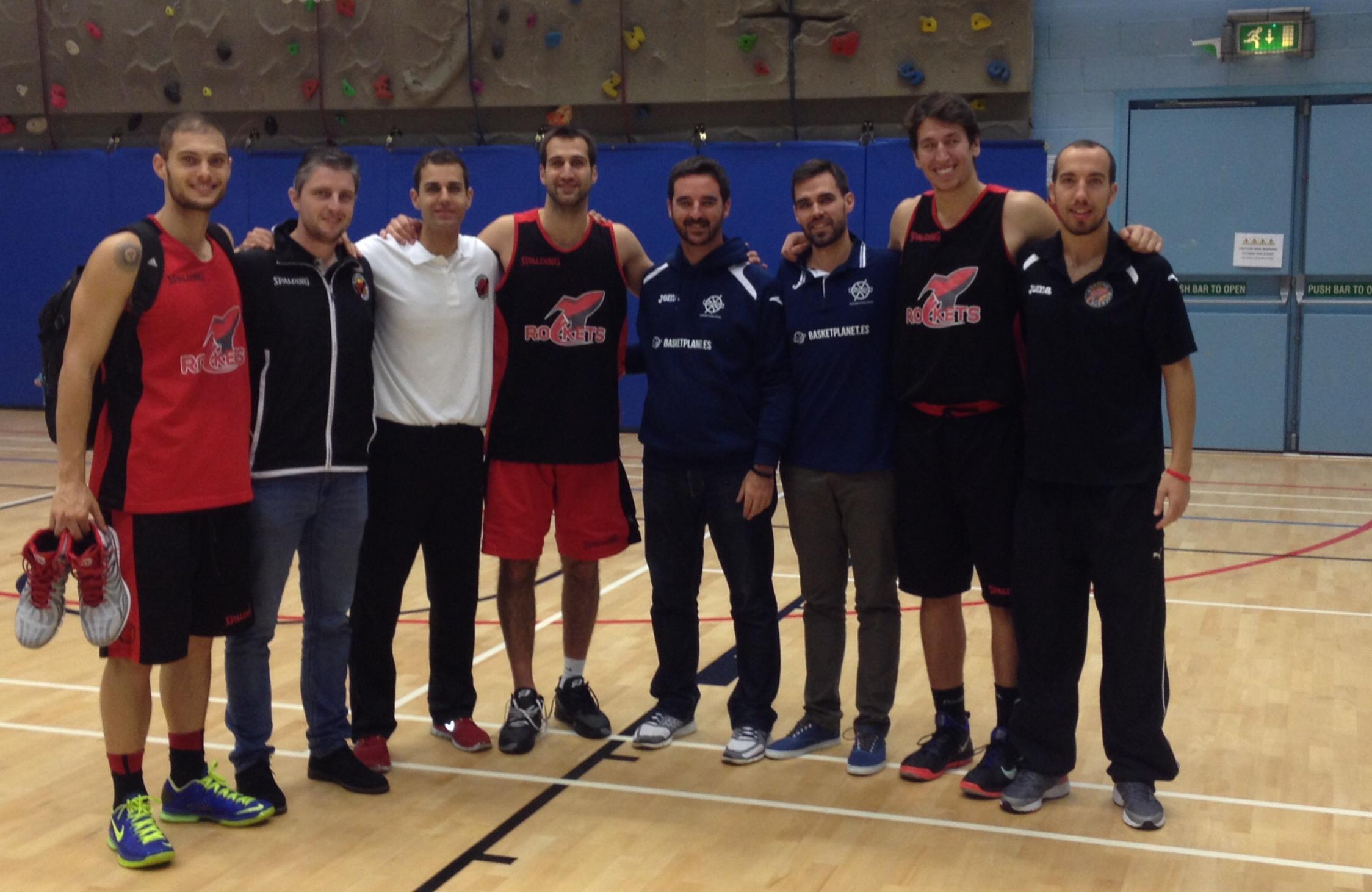 Españoles del Reading Rockets